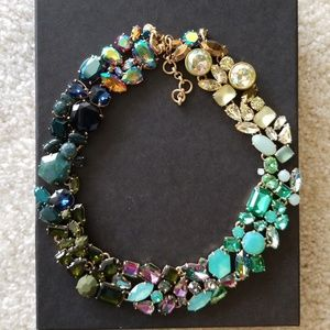 J Crew multicolored statement necklace